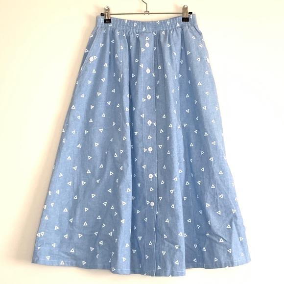 c23be383d Koret Dresses & Skirts - Koret City Blues midi skirt with pockets size M